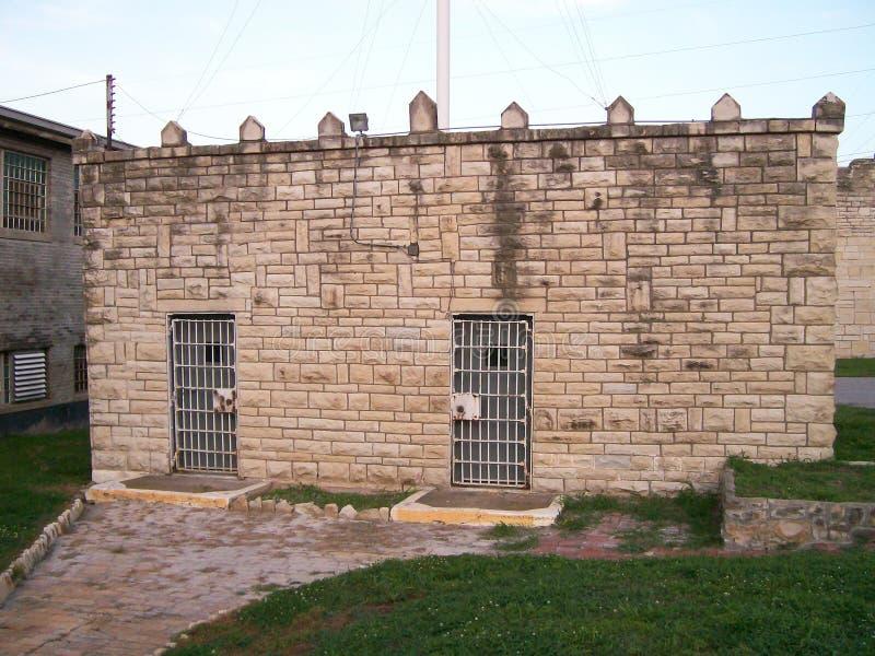 MSP-de bouw van de gevangenisgaskamer royalty-vrije stock foto
