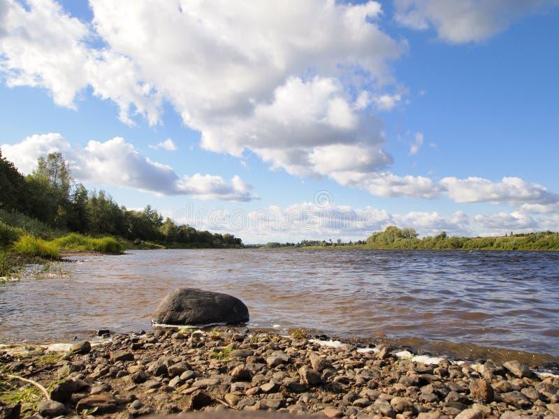 Msta реки стоковое фото rf