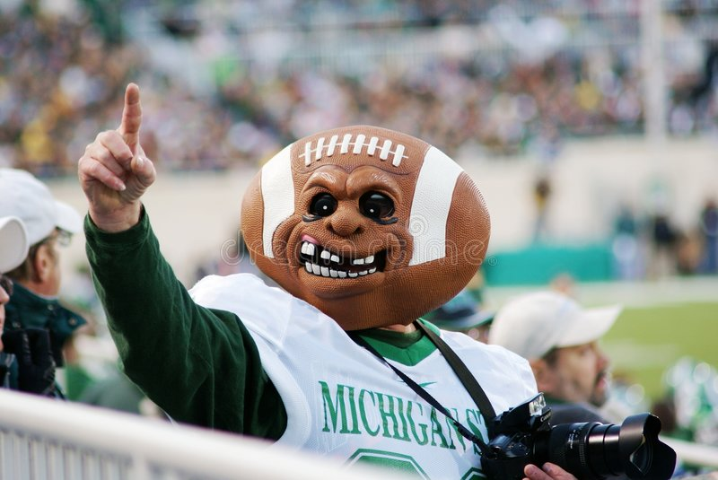 Download MSU Vs Michigan, Football Fan Editorial Photography - Image: 5937657