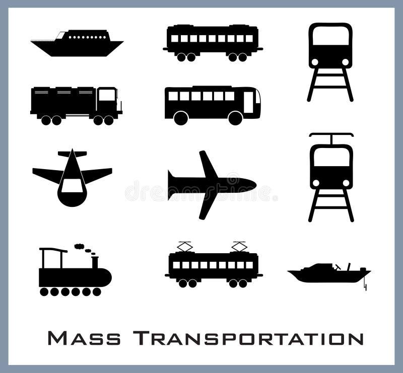 Mszalny transport ilustracji