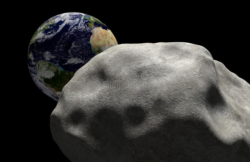 Mszalny wygaśnięcia pojęcie kometa w przestrzeni przewodził dla wpływu z planety ziemią Elementy ten wizerunek meblujący NASA ilustracji
