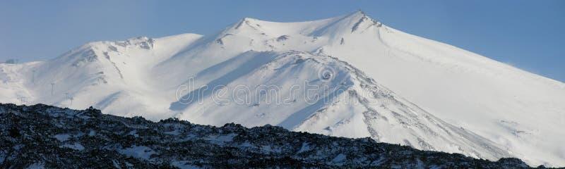 Mt. Ätna stockfotos