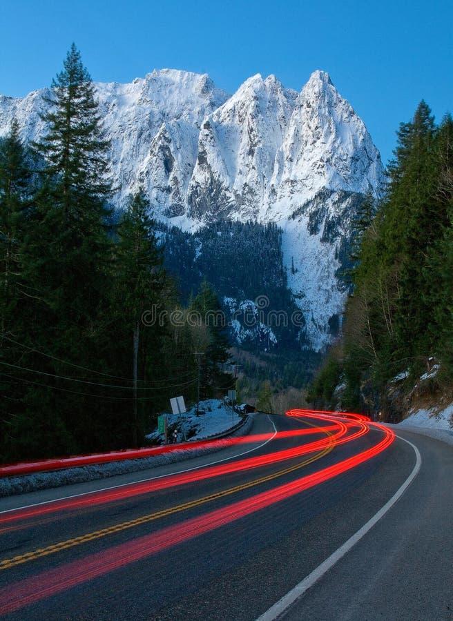 Mt Индекс, штат Вашингтон стоковые фотографии rf