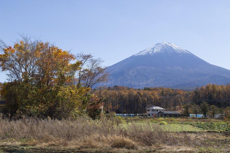 Mt 富士在秋天,日本 库存照片