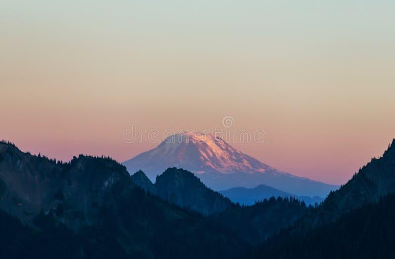 Mt adan 免版税图库摄影