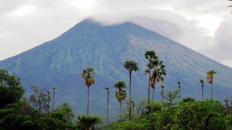 Mt Agung Bali imagens de stock