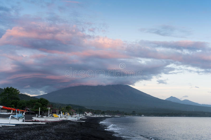 Mt. Agung, Bali, Indonesia royalty free stock image