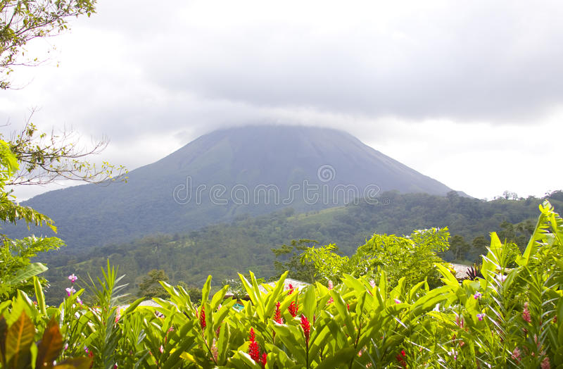 Download Mt Arenal Volcano In Costa Rica Stock Photo
