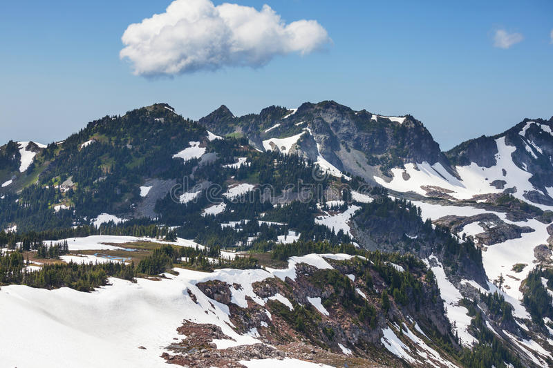 Mt.Baker royalty free stock photography