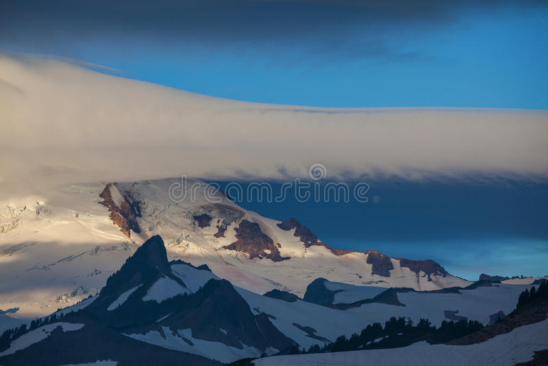 Mt.Baker royalty free stock image