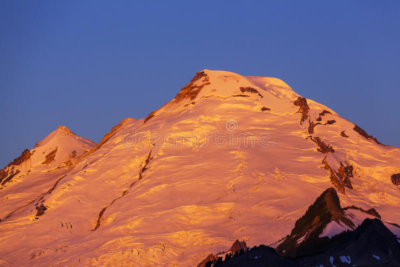 Mt.Baker. Mt. Baker stock photography