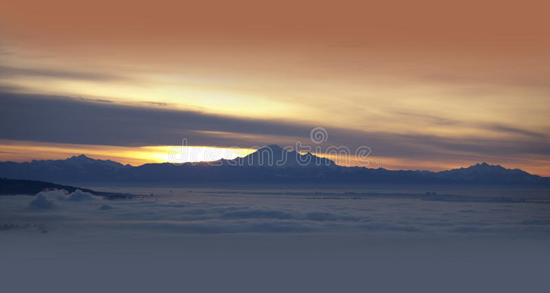 Download Mt. Baker And Coast Mountains Stock Photo - Image: 28817530