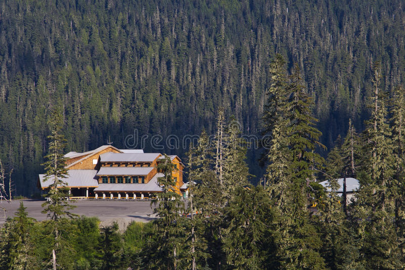 Mt. Baker Lodge. In summer time royalty free stock photo