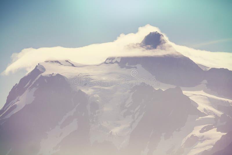 Mt Baker. Recreational area in summer season stock image