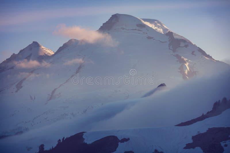 Mt Baker. Recreational area in summer season stock photos