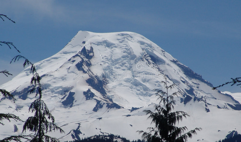 Mt Baker North Side stock photography