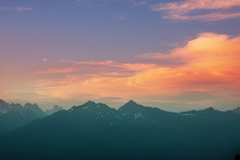 Mt Baker Area. Mt. Baker recreation area, Washington, USA royalty free stock photos