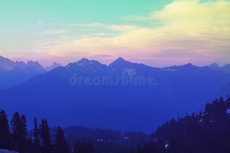 Mt Baker Area royalty free stock photos