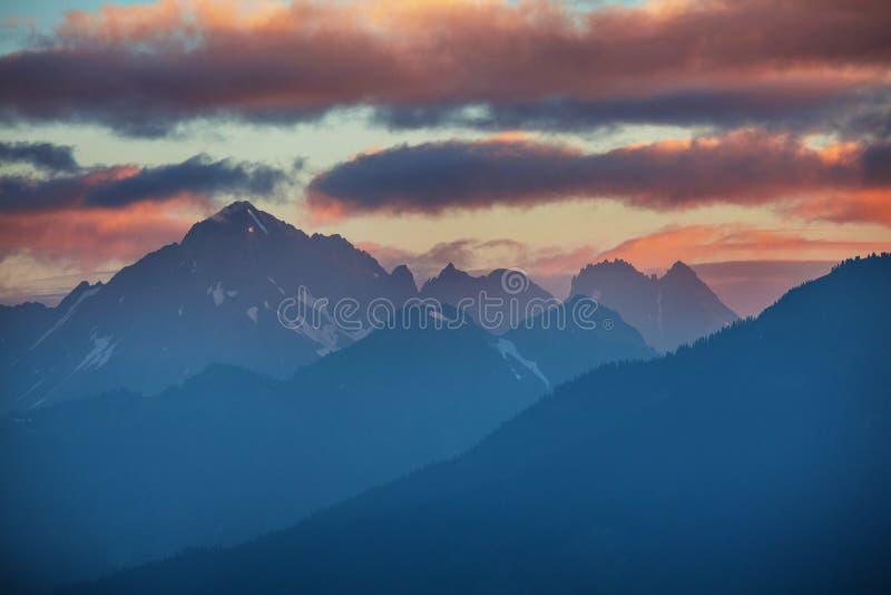 Mt Baker Area. Mt. Baker recreation area, Washington, USA stock images