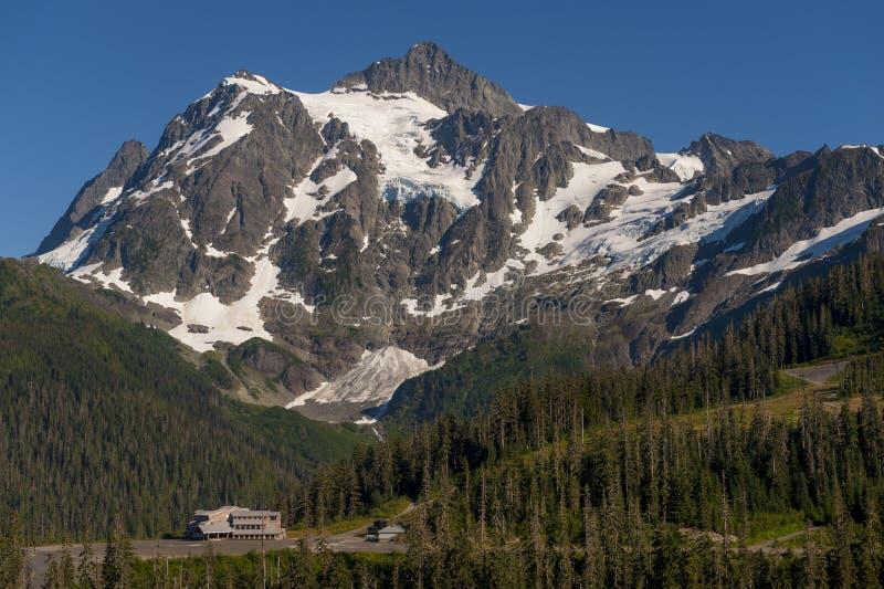 MT Baker Ski Area stock fotografie