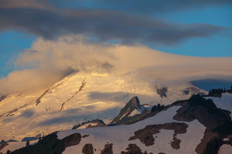 Mt.Baker. In Washington stock photo