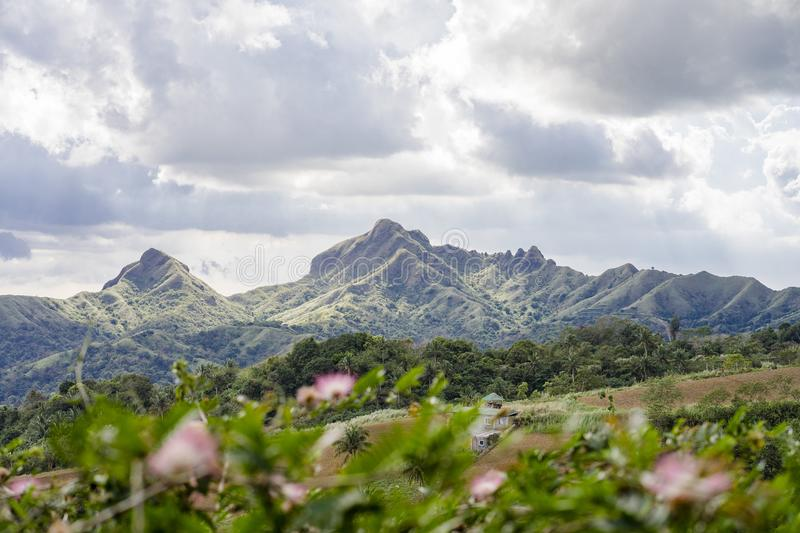 Mount Batulao, Mt. Batulao, Batulao Batangas mountain. Mt. Batulao is touted as one of the top favorites for trekking and mountain climbing. Located at Nasugbu stock photography