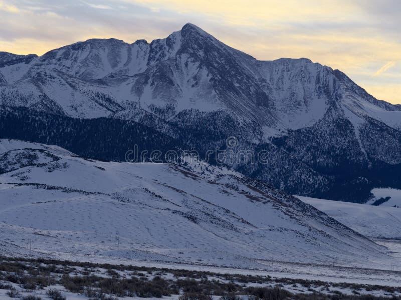 Mt Borah fotografía de archivo
