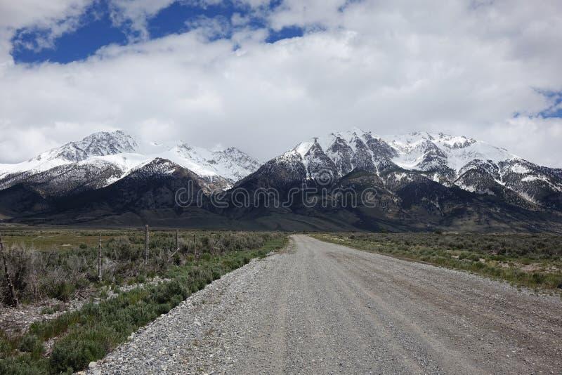 Mt Borah - Idaho fotos de archivo