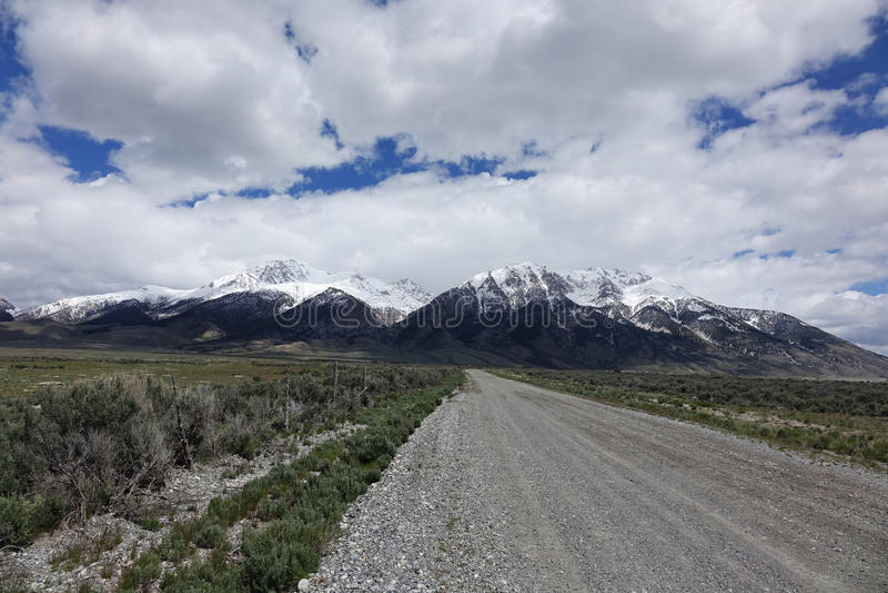 Mt Borah - Idaho foto de archivo
