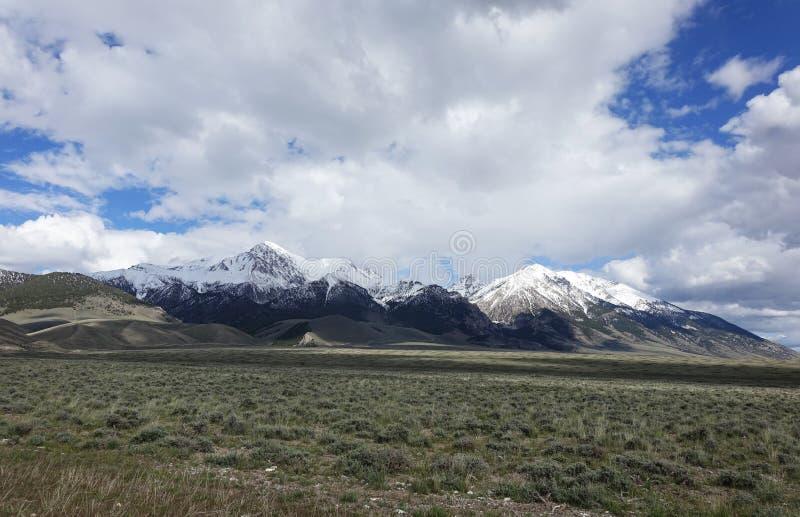 MT Borah - Idaho royalty-vrije stock afbeeldingen
