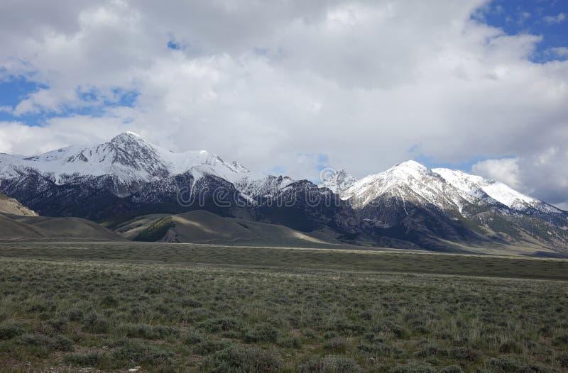 Mt Borah - Idaho imagen de archivo