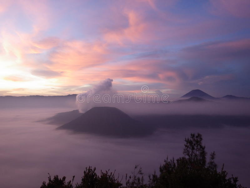 Mt Bromo stockfoto
