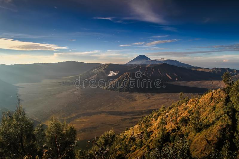 Mt Bromo 库存照片