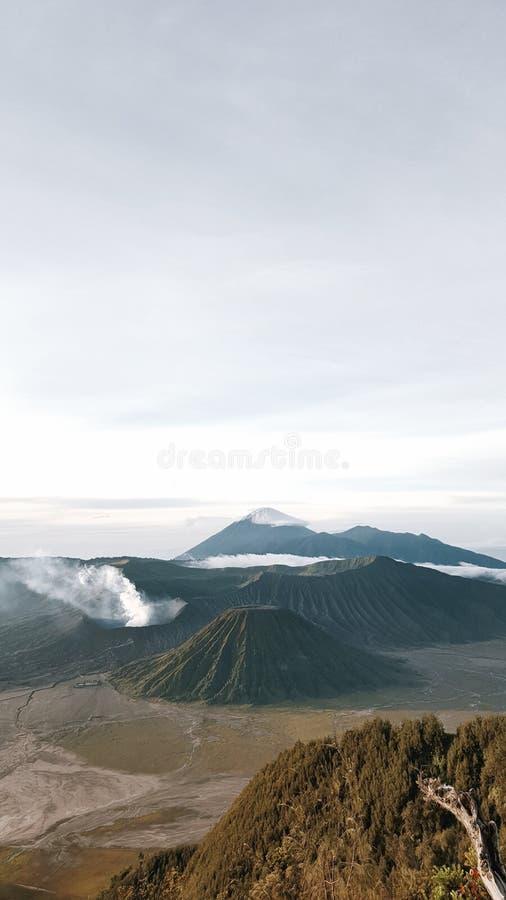 MT Bromo Indonesië royalty-vrije stock afbeelding