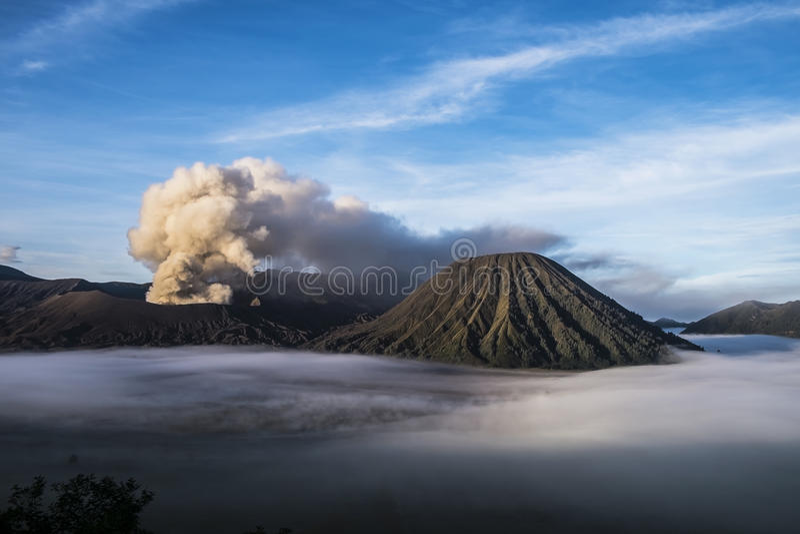 MT Bromo Indonesia. MT Bromo ,Jawa Indonesia. Photo taken on: 05-10-2016 stock photos