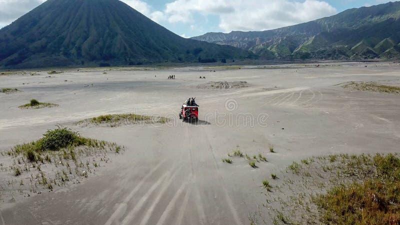 Mt Bromo, Pasuruan, East Java, Indonésia imagens de stock