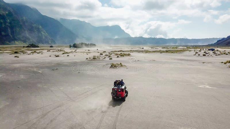 Mt Bromo Pasuruan, East Java, Indonesien fotografering för bildbyråer