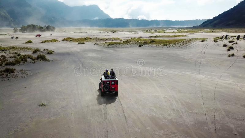 Mt Bromo Pasuruan, East Java, Indonesien arkivfoton
