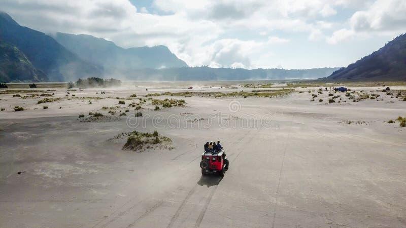 Mt Bromo Pasuruan, East Java, Indonesien royaltyfri fotografi