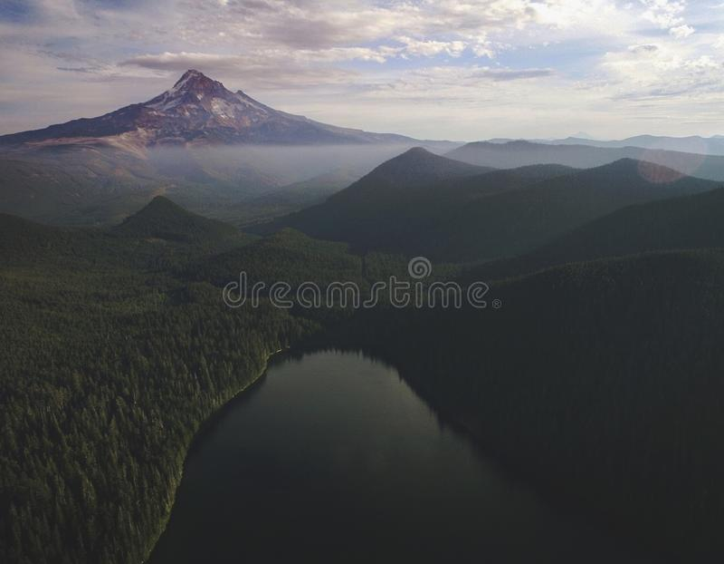 Mt Capa de cima de imagem de stock royalty free