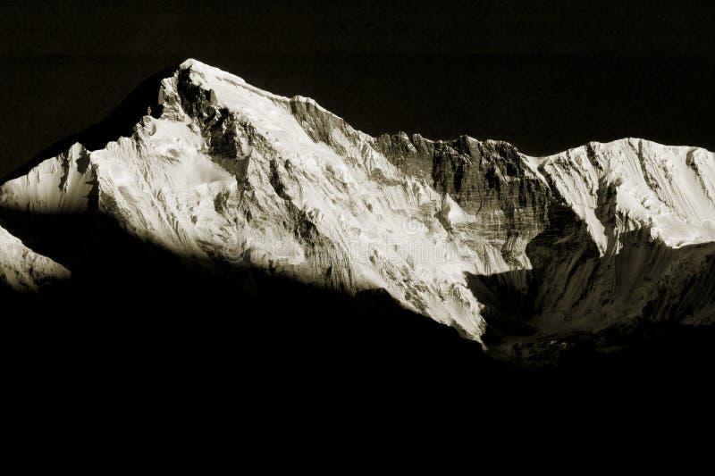 Mt. Cho Oyu nel Nepal fotografia stock libera da diritti