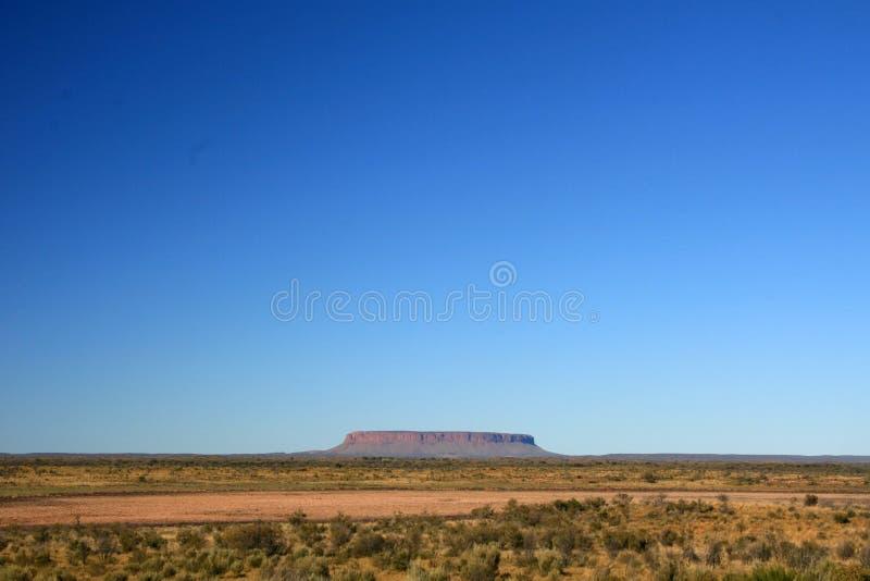Mt Connor, Australien lizenzfreies stockfoto