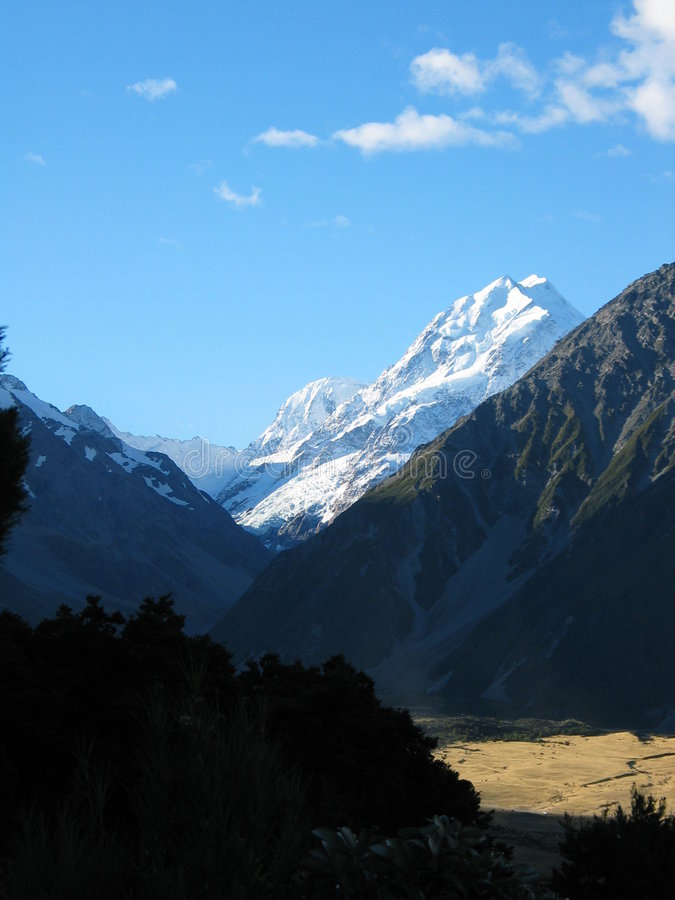 Mt Cook, Mackenzie country royalty free stock photography