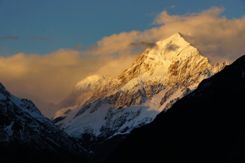 Mt Cook National Park. NZ royalty free stock photos