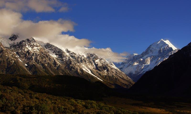 Mt Cook National Park. NZ stock images