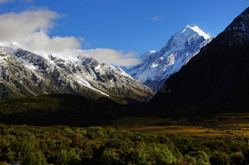 Mt Cook National Park (16) royalty free stock photo