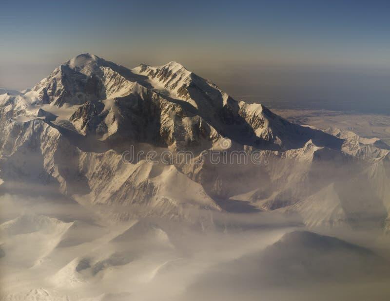 Mt. Denali stock afbeeldingen