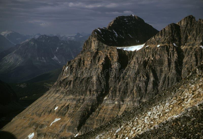 Mt. Edith Cavell immagine stock libera da diritti