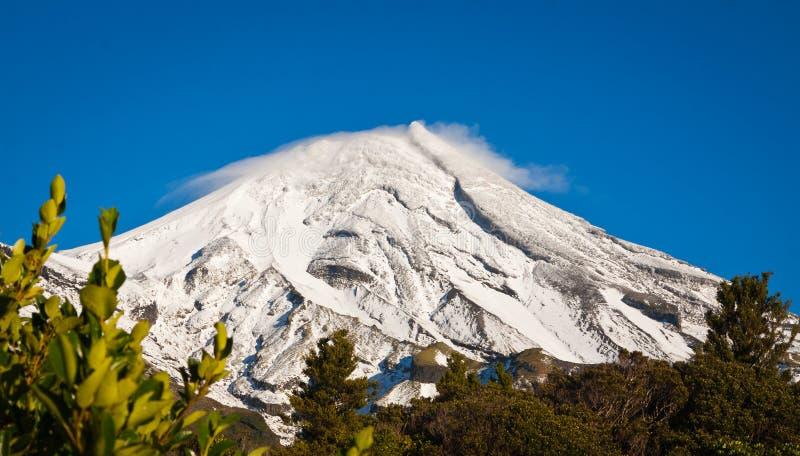 Mt Egmont ou Mt Taranaki foto de stock