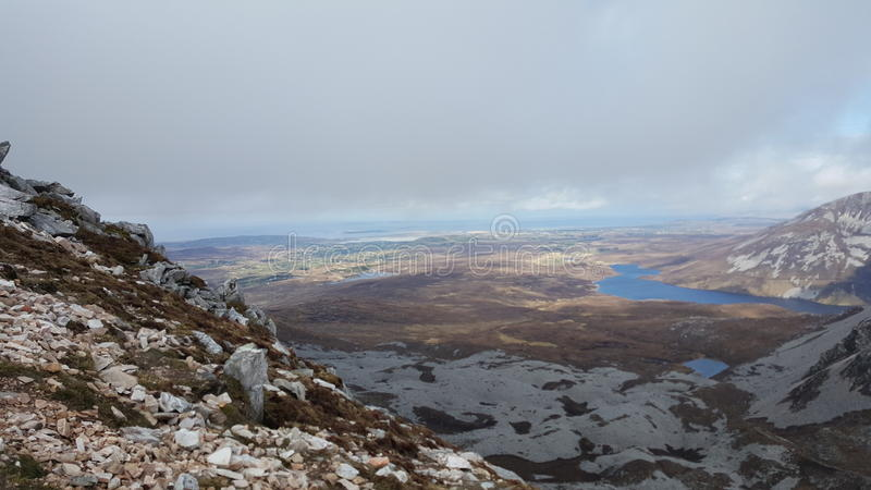 MT Errigal stock afbeeldingen